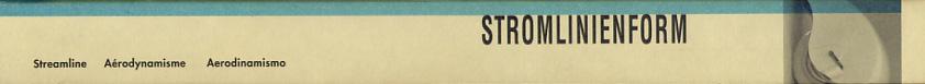 Stromlinienform [Katalogbuch zur gleichnamigen Ausstellung]