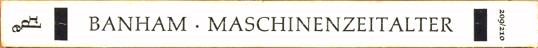 Die Revolution der Architektur. Theorie und Gestaltung im Ersten Maschinenzeitalter.